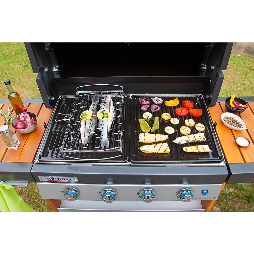 Gourmet Barbecue Fish Grid