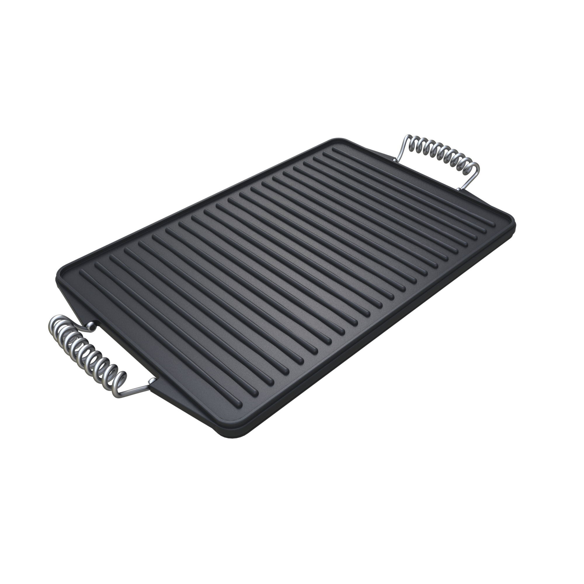 Gourmet Barbecue Reversible Cast Iron Griddle